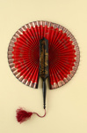 Cockade Fan; c.1890s; LDFAN1992.11