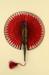 Cockade Fan; c.1890s; LDFAN1992.11