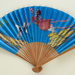 Folding fan advertising Civil Aviation Administration of China (CAAC); c. 1960s; LDFAN1998.31