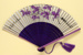 Advertising fan for Thai International Royal Orchid Service; C. 1970; LDFAN1994.19