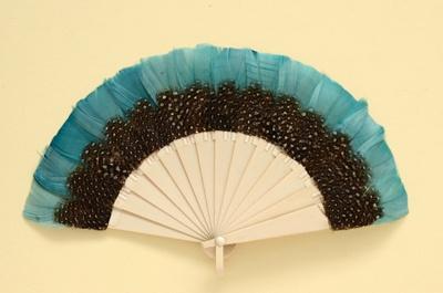 Feather Fan; c. 1920s; LDFAN2001.33