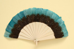 Feather Fan; c. 1920s; LDFAN2001.33