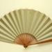 Folding fan depicting points of interest in Hastings, England; c.1890; LDFAN2011.43