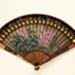 Lacquer painted brisé fan, Chinese; c.1750; LDFAN1994.157