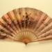 Folding Fan; c. 1900; LDFAN2003.377.Y.A