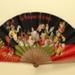 Advertising fan for La Menthe/Peppermint Pastille liqueurs; Ganné, J, Oge, Eugene, Prevel, L; c.1905; LDFAN2003.425.HA