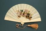 Ivory Brisé Fan; c.1870s; LDFAN2003.18.Y
