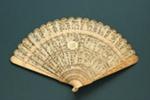 Ivory Brisé Fan, Chinese; c.1830; LDFAN2005.7