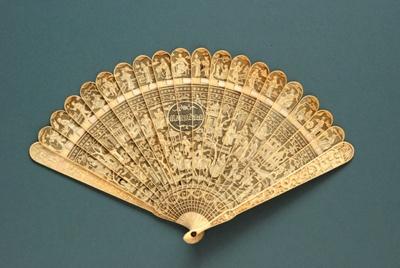Ivory Brisé Fan, Chinese; c.1820; LDFAN2002.26
