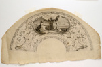English Engraved Fan Leaf; Sarah Ashton; 1790s; LDFAN1990.15