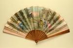Folding Fan; c. 1880; LDFAN2003.20.Y