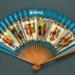Advertising fan for British Overseas Airways Corporation (BOAC) - 'Speedbird'; Adelman, K. M; c. 1950s; LDFAN1991.44