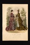 Fashion Plate; Anais Toudouze; 1878; LDFAN1990.77