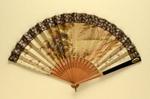 Folding Fan; c. 1880; LDFAN1999.16