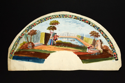 Fan Leaf; c.1790; LDFAN2010.31