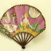 Folding fan advertising Flornicia perfume for Larbalastier; Eventails Chambrelent; c.1920s; LDFAN2007.31