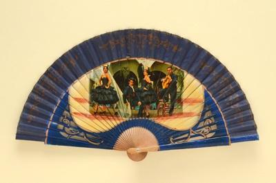 Folding Fan; c.1960; LDFAN1994.50