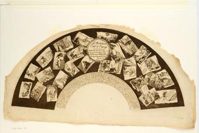 English Fan Leaf; Sarah Ashton; April 1797; LDFAN1990.14