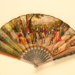 Advertising fan for Cafe Martin, New York; Francolin, Gilet & Cie; c. 1910; LDFAN2012.82