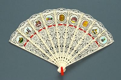 Brisé Fan; LDFAN1986.9