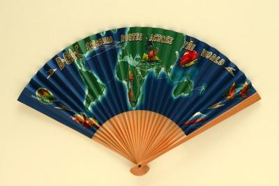 Advertising Fan; c. 1960; LDFAN1994.249