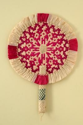 Fixed Fan; c. 1990; LDFAN1997.22