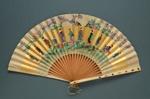 Folding Fan; c. 1880-90; LDFAN2005.42