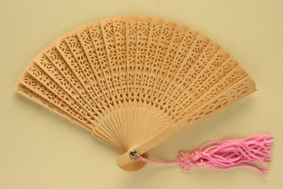Miniature Brisé Fan; LDFAN2003.461