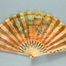 Advertising fan for Knickerbocker Restaurant; Buissot Eventails; c. 1910; LDFAN1997.34.1 & LDFAN1997.34.2