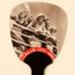 Fixed fan advertising Italia Flotte Riunite; Barbarino & Graeve; 1933; LDFAN2011.55