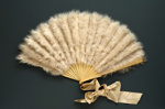 Feather Fan; c. 1920; LDFAN1993.25