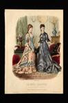 Fashion Plate; Anais Toudouze, Bonnard; 1878; LDFAN1990.81