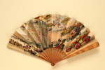 Advertising fan for Hotel Knickerbocker; Duvelleroy; LDFAN2013.34.HA