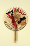 Advertising fan for Bally shoes; Eventails Chambrelent, Cappiello, Leonetto; c. 1933; LDFAN2011.32