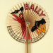 Advertising fan for Bally shoes; Eventails Chambrelent; c. 1933; LDFAN2011.32