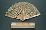 Folding Fan; c. 1900; LDFAN2012.44.A & LDFAN2012.44.B