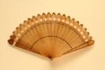 Horn Brisé Fan; c.1820s; LDFAN1999.17