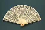 Bone Brisé 'Tea Chest' Fan; c.1890; LDFAN2008.26