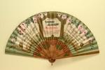 Advertising fan for Cherry Blossom et al; LDFAN2003.397.HA
