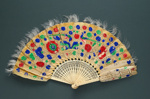 Feather Fan; c. 1860; LDFAN2010.59