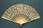 Folding Fan; c. 1920; LDFAN1994.257