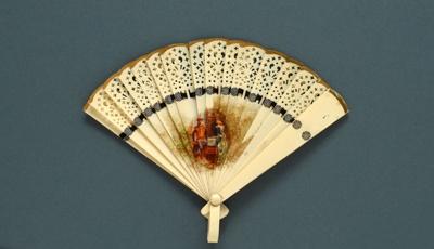 Brisé Fan; c.1920; LDFAN1997.26