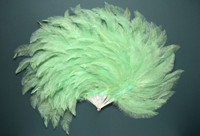 Feather Fan; c. 1924; LDFAN2006.25