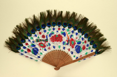 Feather Fan; c. 1900; LDFAN2003.249.Y
