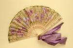Folding Fan; c. 1900; LDFAN2011.136