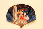 Advertising fan for Restaurants Poccardi, Paris; Cappiello, Leonetto; c. 1925; LDFAN2013.13.HA