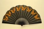 Folding Fan; c. 1890; LDFAN1996.38