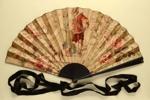 Folding Fan; c. 1880; LDFAN1995.23