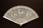 Ivory brisé fan, Chinese; c. 1790s; LDFAN2005.12