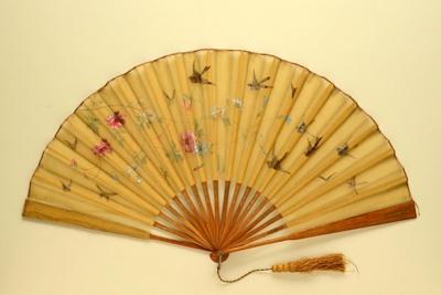 Folding Fan; c. 1900; LDFAN1992.51